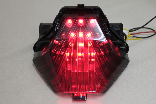 YZF-R25 ウインカー付 LEDスモークテールランプ MT-25 YZF-R3 MT-07 MT-03 LEDテールランプ YAMAHA ヤマハ_画像7