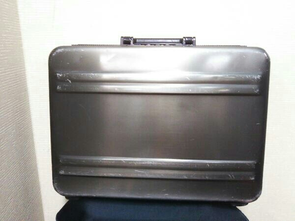 スーツケース ZERO HALLIBURTON アタッシュケース/GRY/無地 ブリーフケース バード ゼロハリバートン カーキ_画像1