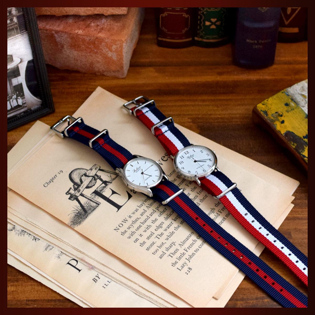 時計ベルト NATO シルバーバックル ショートサイズ 18mm 5本セット 取付けマニュアル 腕時計バンド_画像6