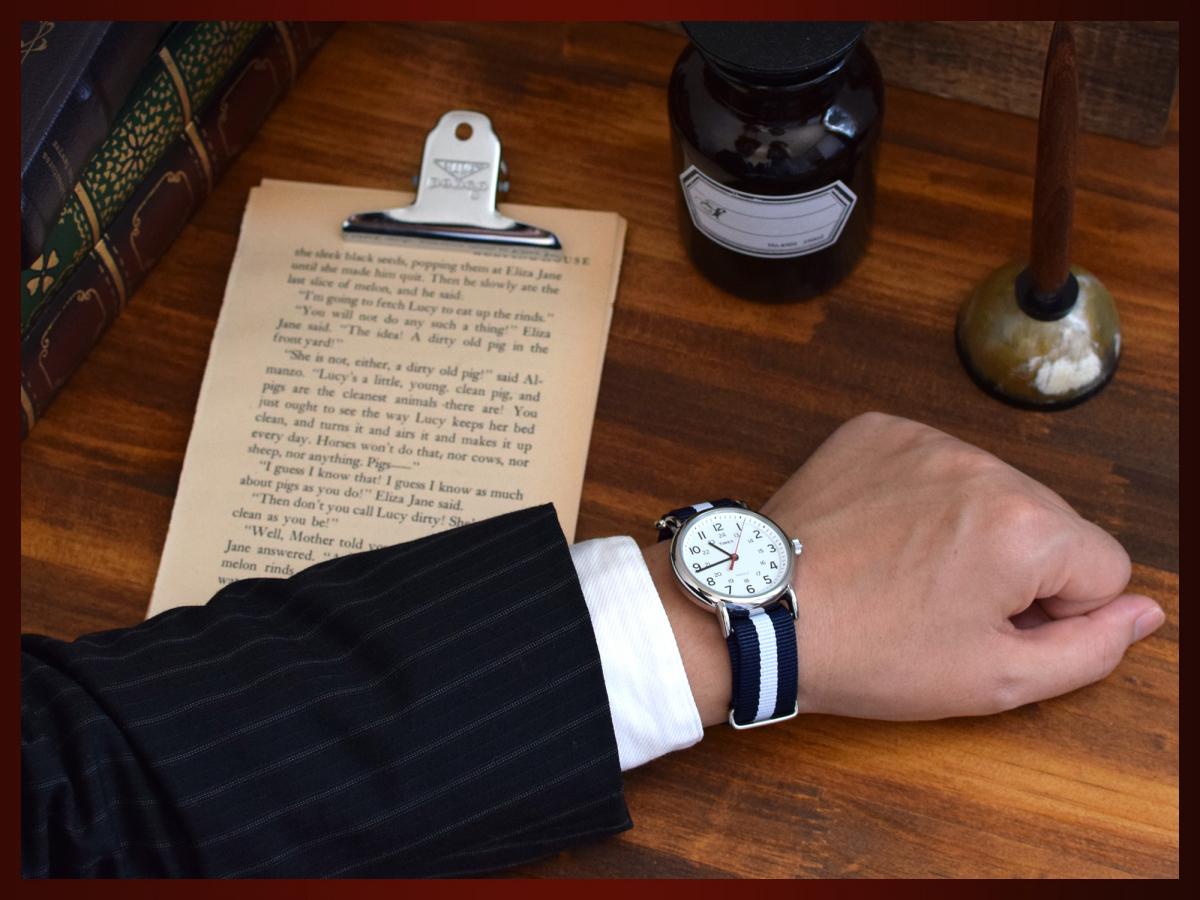 時計ベルト NATO シルバーバックル ショートサイズ 18mm 5本セット 取付けマニュアル 腕時計バンド_画像8