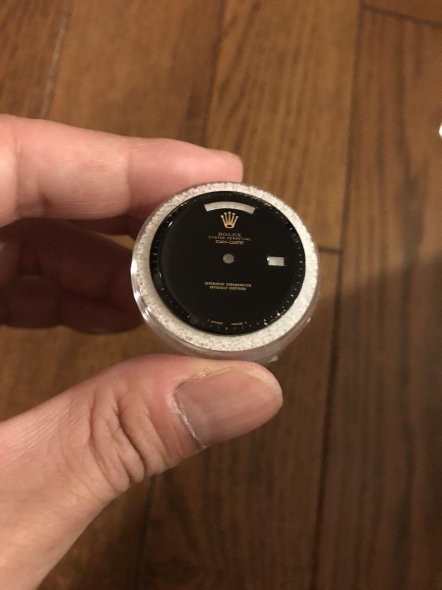 レア希少Rolex 1803 36mm Day-Date Black Onyx Dial ロレックス デイデイト 文字盤 ダイヤル リダン_画像5