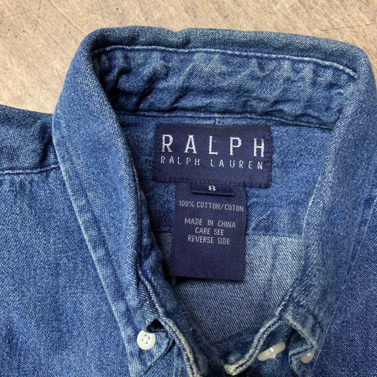 デニムシャツ RALPH LAUREN used
