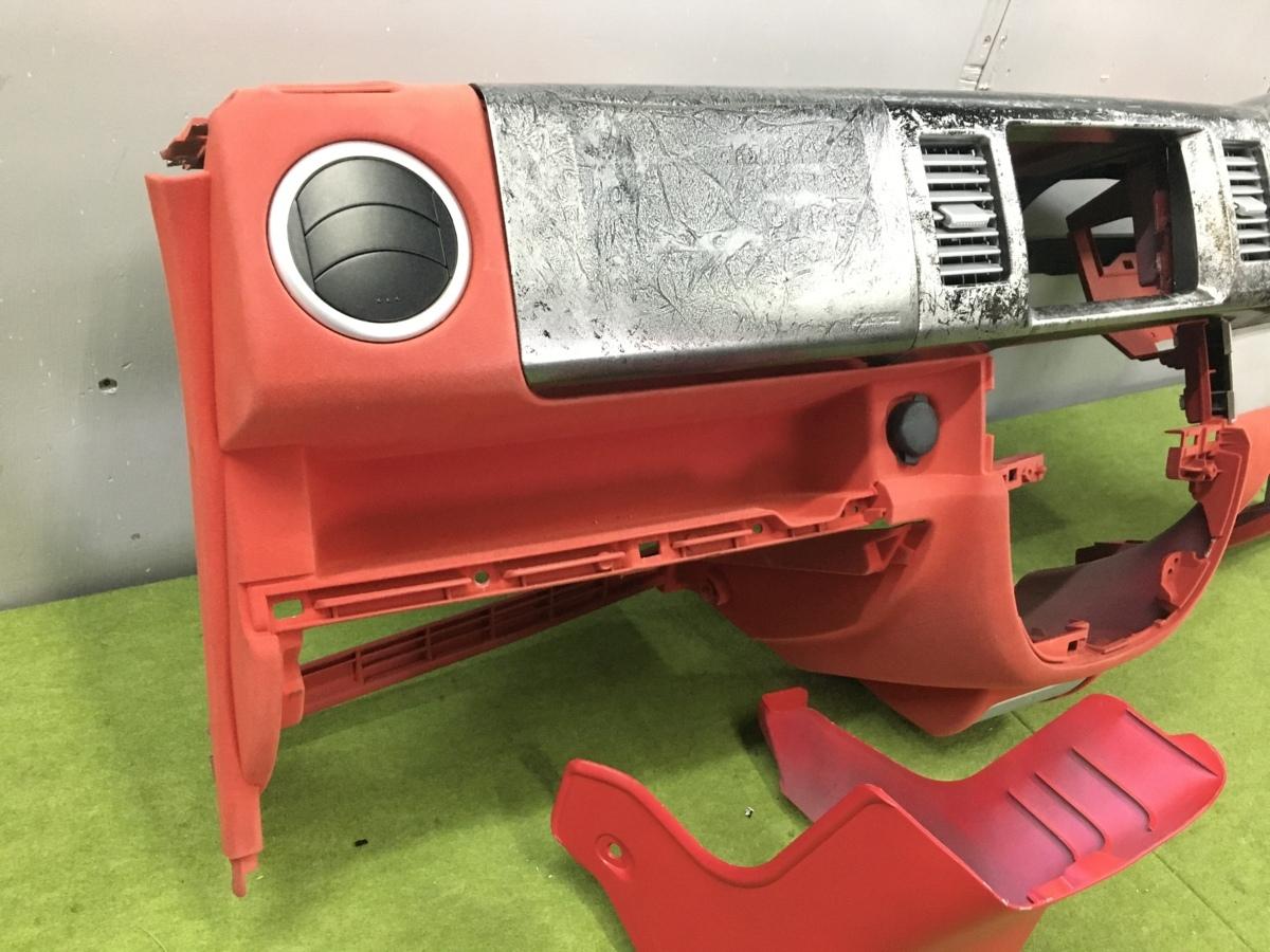 エブリィワゴン DA64W インストゥルメントパネル/ダッシュパネル 73111-68H00-R8H カスタム品 フロッキー塗装 植毛塗装_画像5