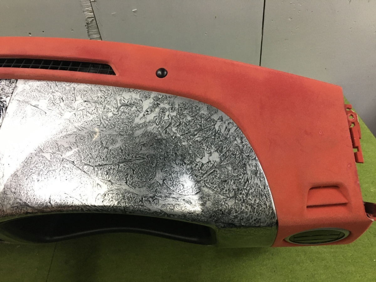 エブリィワゴン DA64W インストゥルメントパネル/ダッシュパネル 73111-68H00-R8H カスタム品 フロッキー塗装 植毛塗装_画像6