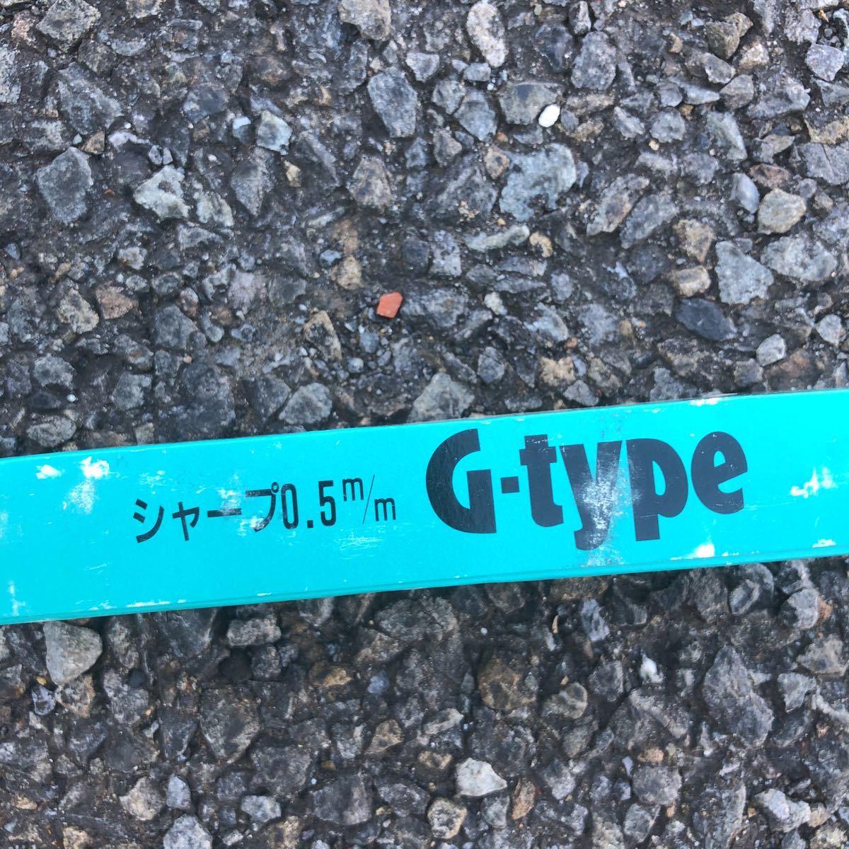 送料無料【未使用】トンボ鉛筆 SH-TG G-type 廃盤 廃番 5本入 デッドストック シャープペンシル 0.5mm 透明グリーン_画像2