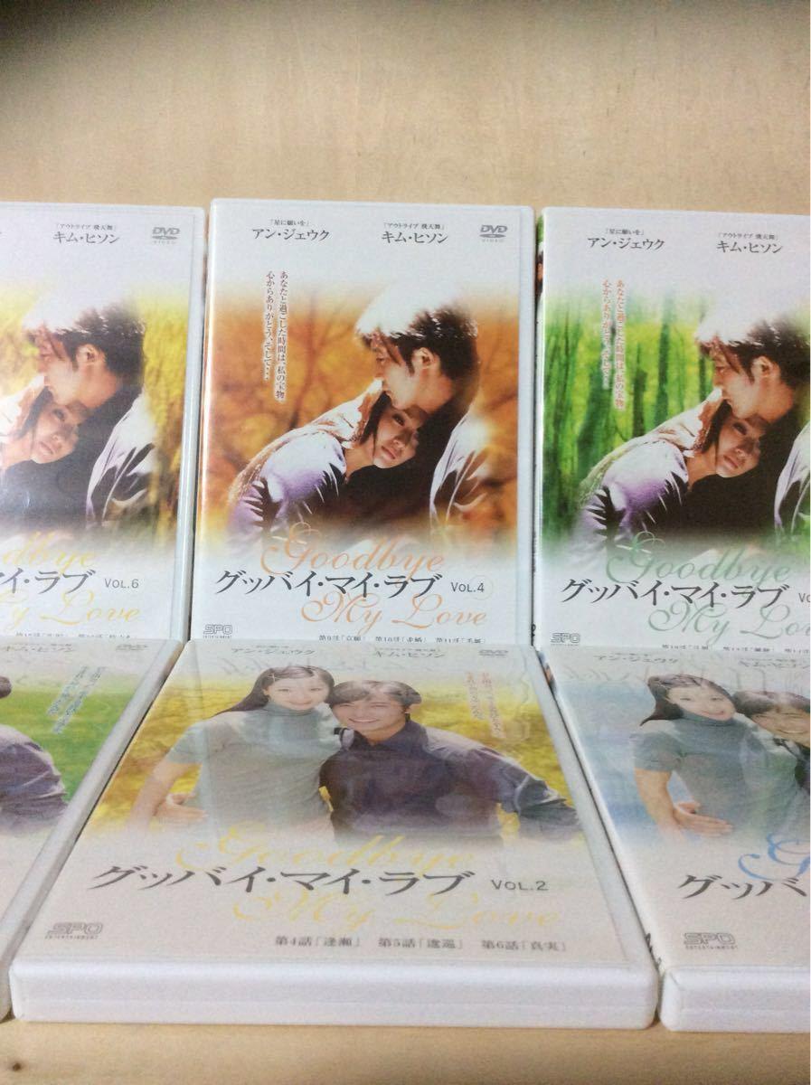 韓流ドラマ DVD グッバイ.マイ.ラブ  6巻完結