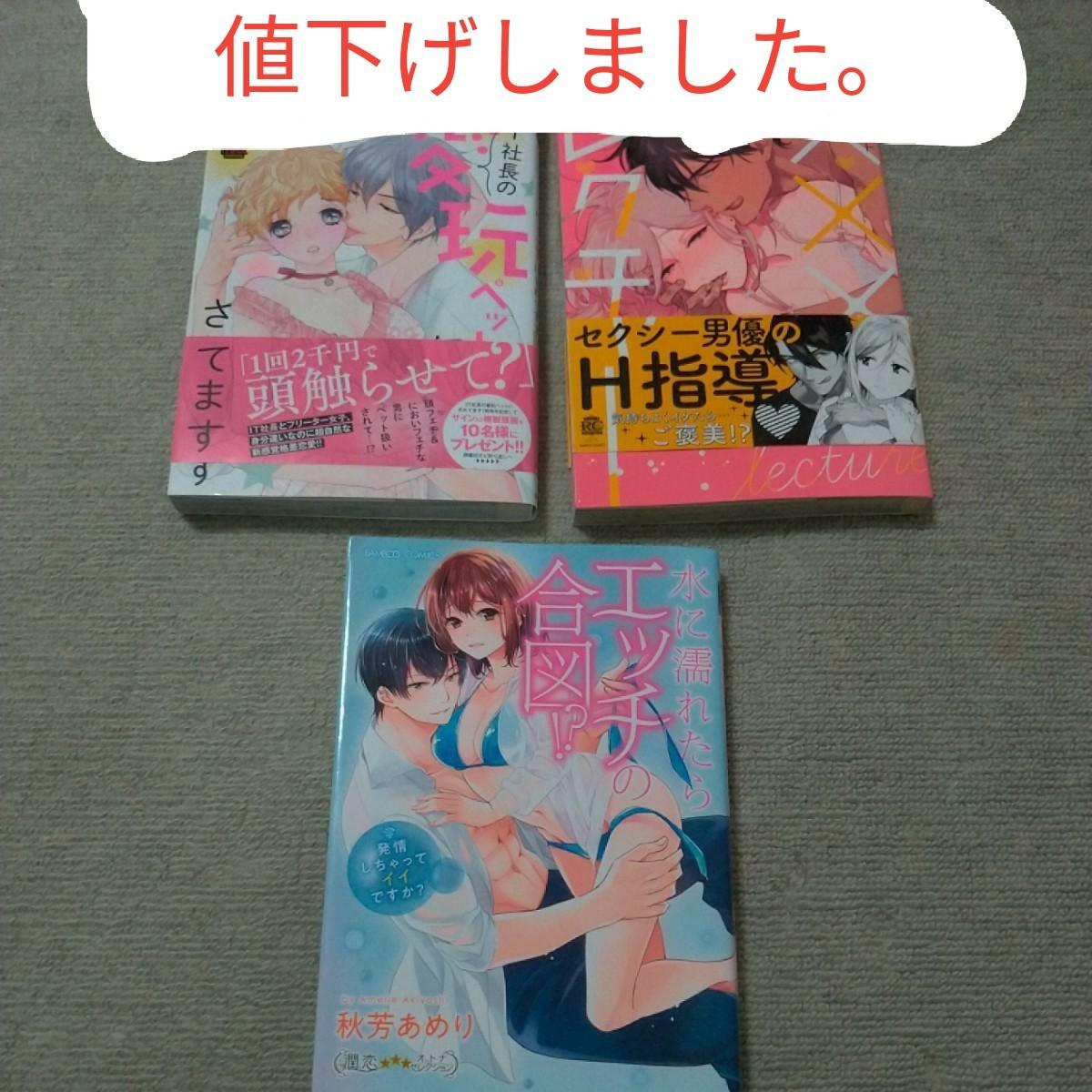 【54】値下げ TL コミック 3冊セット