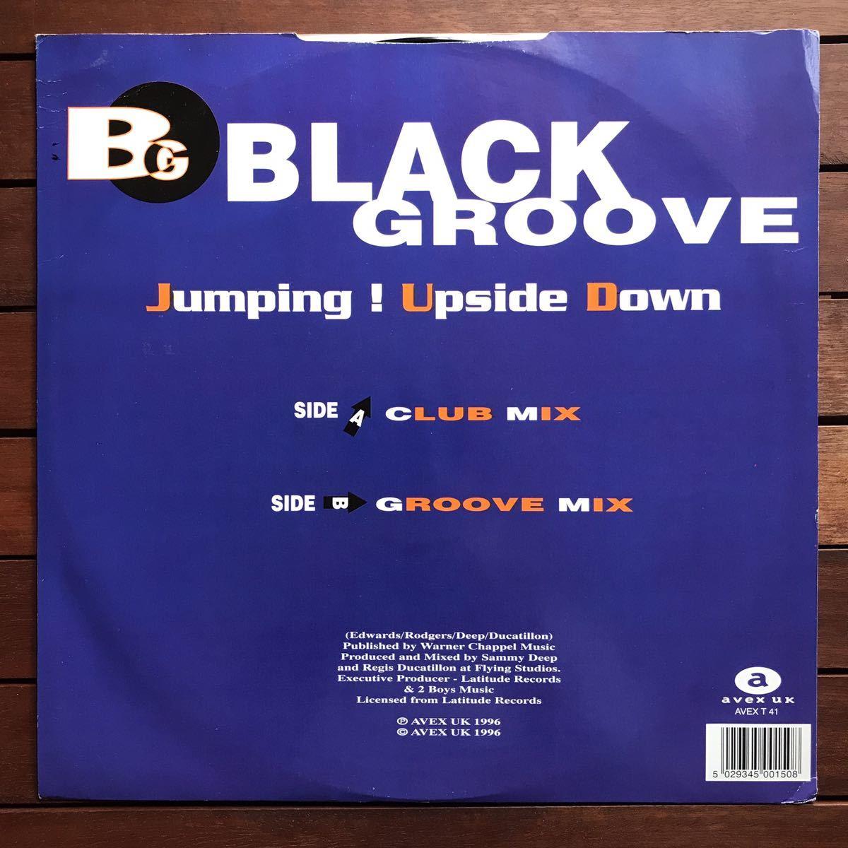 ●【eu-rap】Black Groove / Jumping ! Upside Down[12inch]オリジナル盤