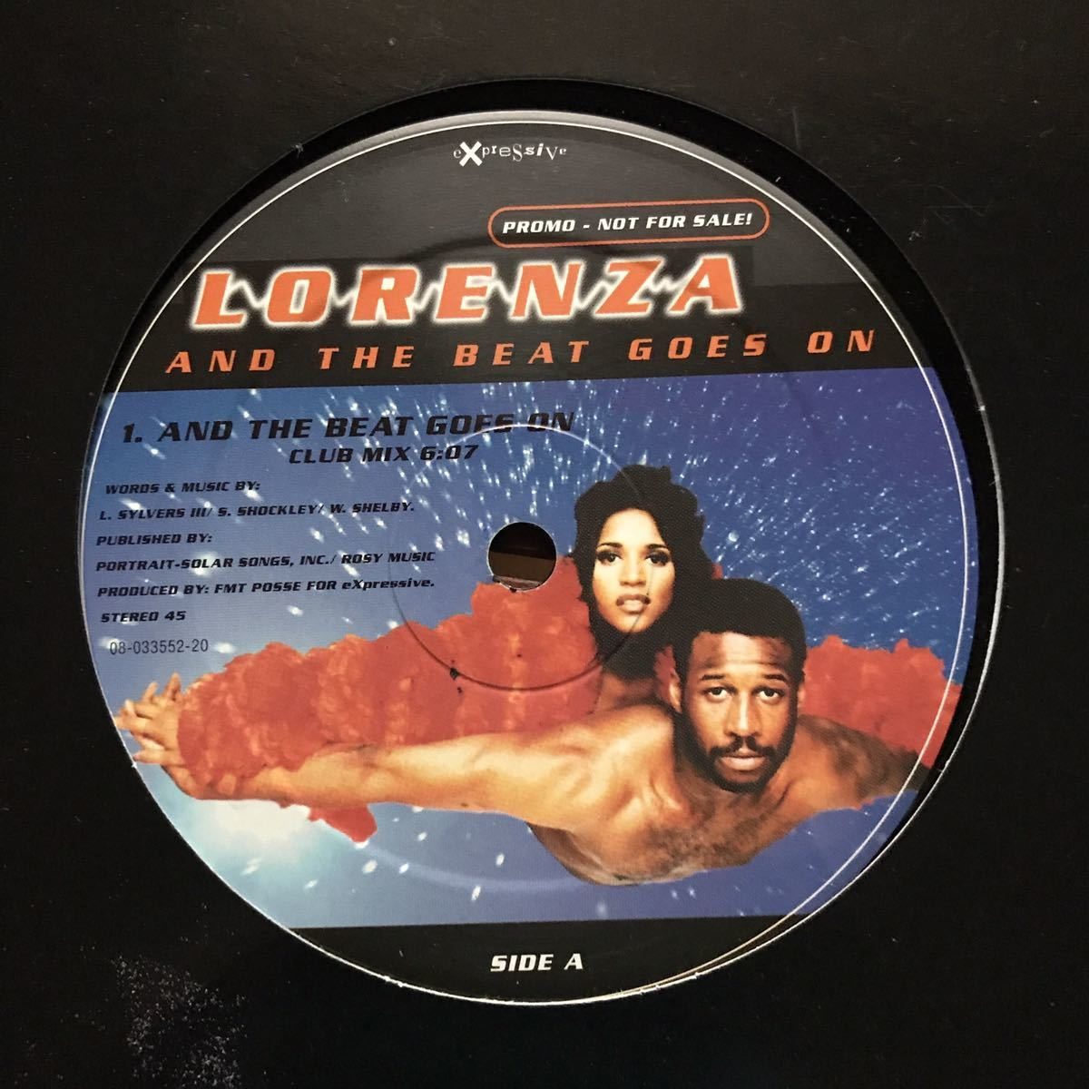 ●【eu-rap】Lorenza / And The Beat Goes On[12inch]オリジナル盤