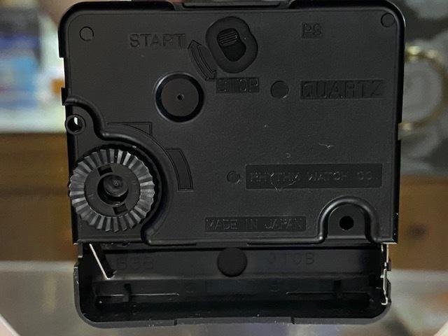 新品《デッドストック》 4SG754-004 CITIZEN シチズン 置時計 エレンシアR754 青色高級光沢仕上_画像7