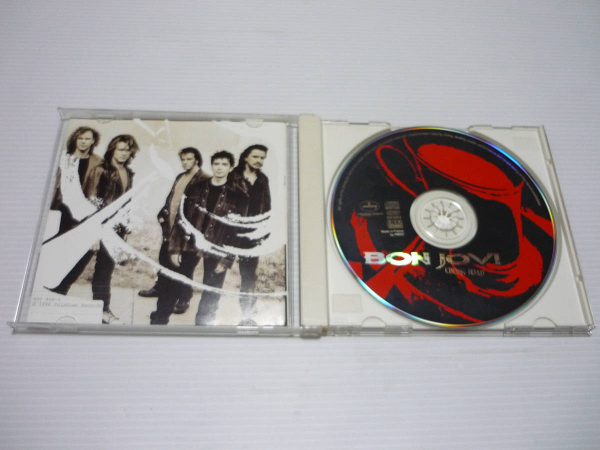 【送料無料】CD ボン・ジョヴィ BON JOVI クロス・ロード ザ・ベスト・オブ BON JOVI Cross Road Best Of Bon Jovi