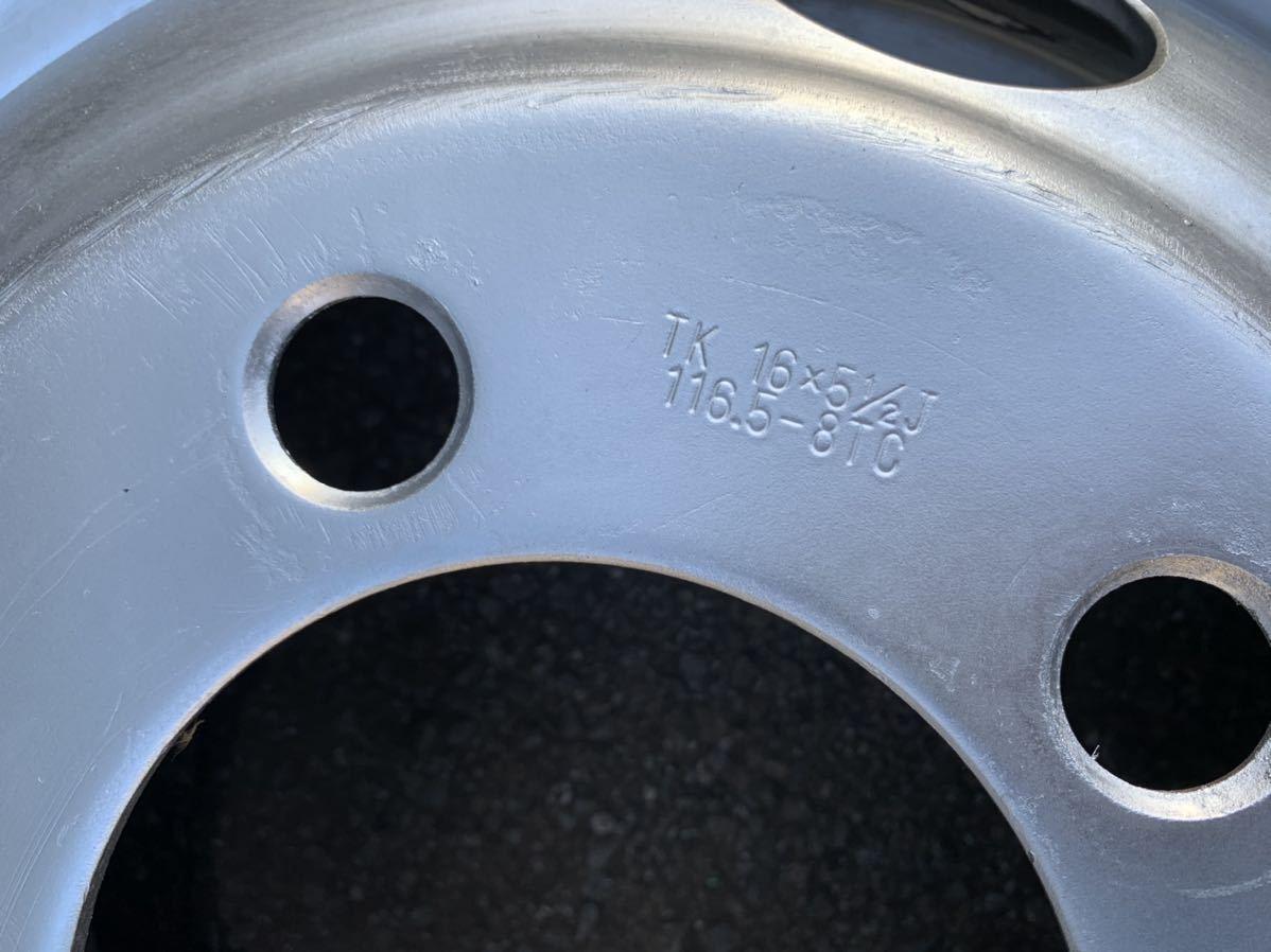 いすゞ エルフ 195/85R16 114/112 L ヨコハマ IG91 2018年製 スタッドレス TK 16×5.5J 116.5-8TC TOPY製 深溝 6本値段_画像3
