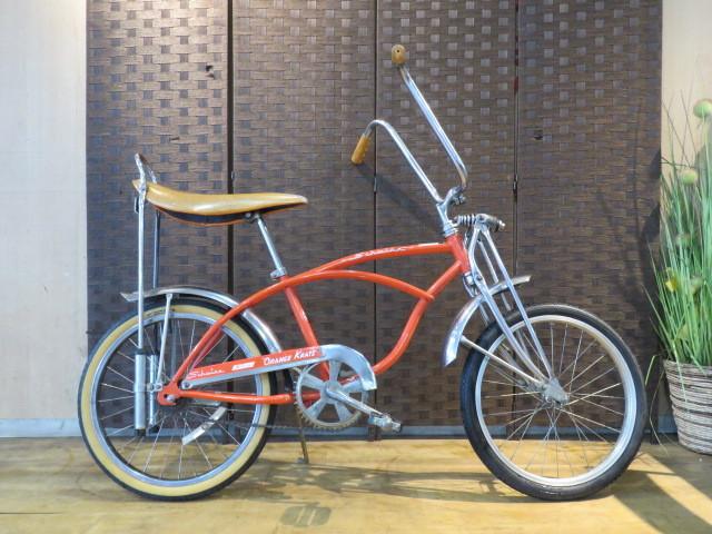 ■ Schwinn Sting-Ray Shun Sting Lay Single Speed Orange 20 Inch Cruiser Vintage Bicycle Sapporo