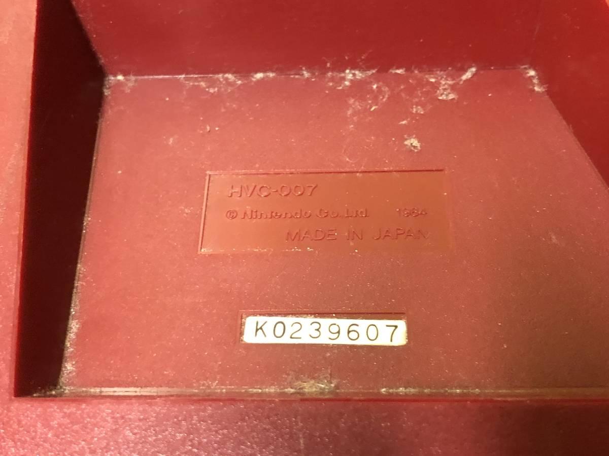 Lot of 7 Nintendo Famicom games consoles Disk system FAMILY BASIC HVC-007 任天堂 ファミコン ゲームソフト 他 4本 本体 まとめて_画像7