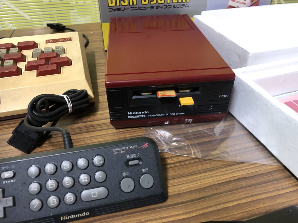 Lot of 7 Nintendo Famicom games consoles Disk system FAMILY BASIC HVC-007 任天堂 ファミコン ゲームソフト 他 4本 本体 まとめて_画像6