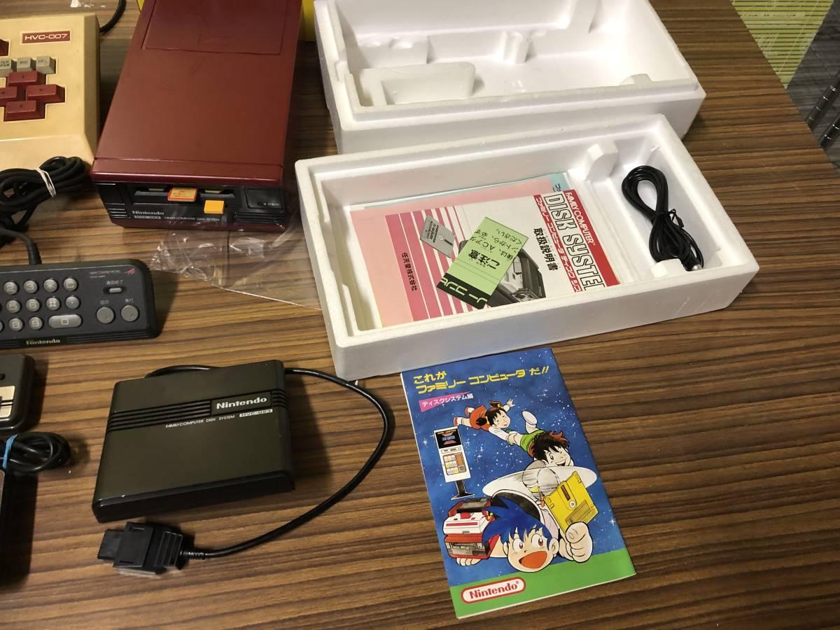 Lot of 7 Nintendo Famicom games consoles Disk system FAMILY BASIC HVC-007 任天堂 ファミコン ゲームソフト 他 4本 本体 まとめて_画像5