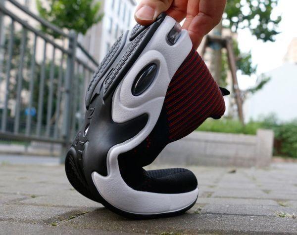 メンズ スニーカー ランニングシューズ フィットネス ウォーキング 通気性 スポーツ カジュアル 靴 メッシュ 【27cm】【赤】 ②_画像4