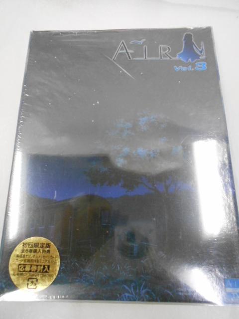 〔良好〕DVD☆AIR エアー vol.3 / 第5話「つばさ~wing~」第6話「ほし~star~」書き下ろしメッセージカード付き visual arts/key_画像1