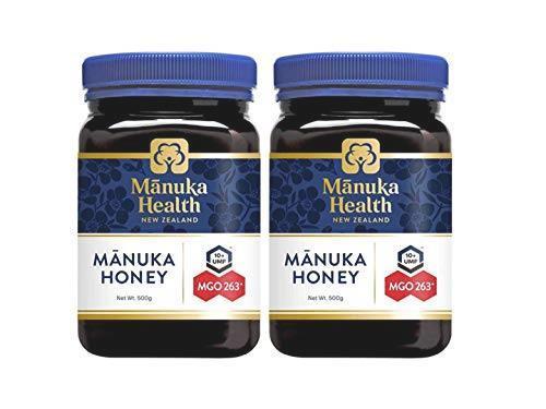 【限定特価】 マヌカヘルス マヌカハニー 500g 2個セット MGO263+ / UMF10+ [ニュージーランド産 ]