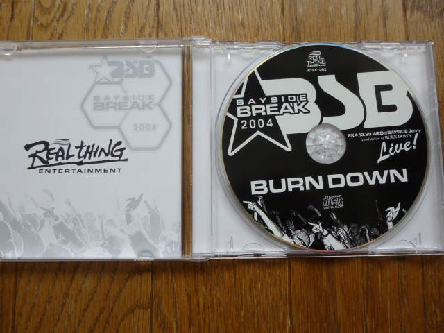 LIVE CD 【BAYSIDE BREAK 2004】