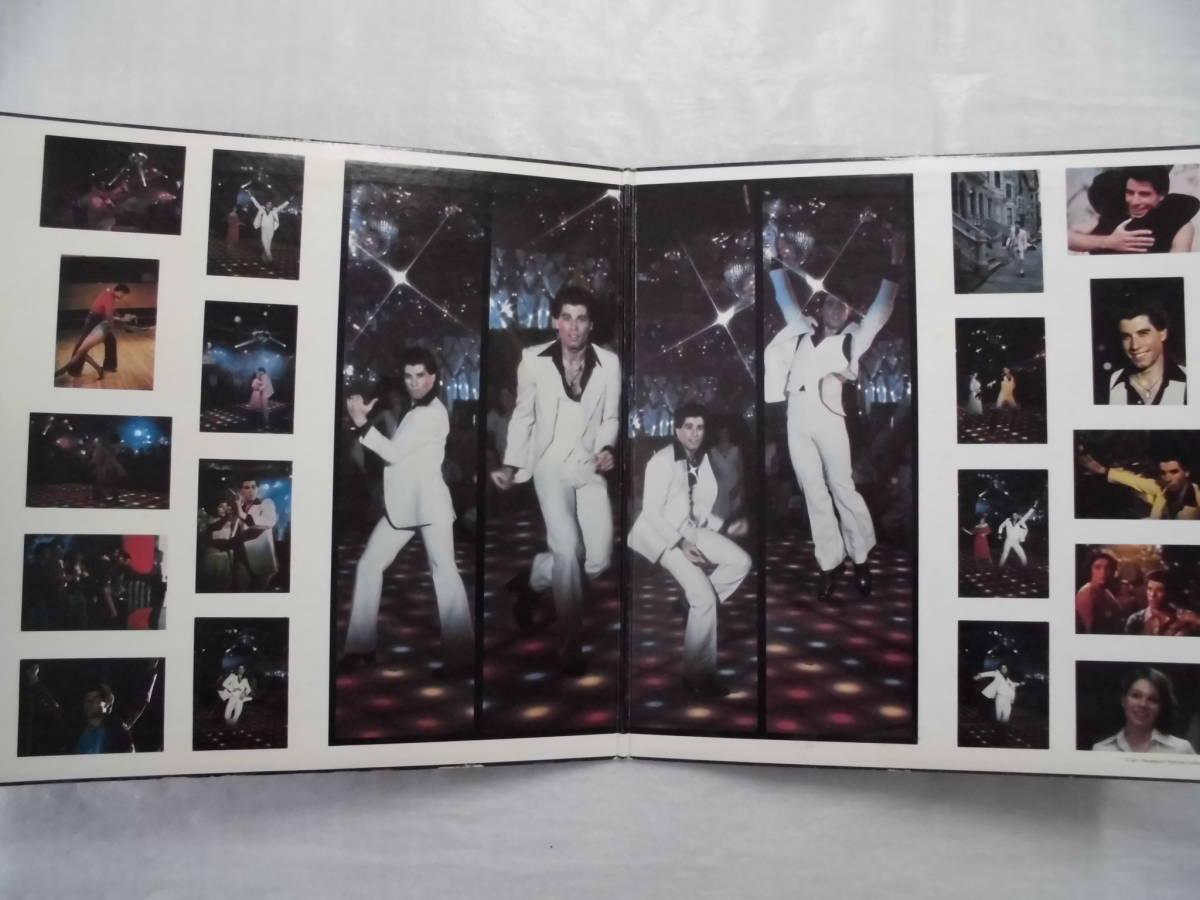 良盤屋P-0860◆LP◆POP ビージーズ  Various  サタディ・ナイト・フィーバー Saturday Night Fever  2枚組 送料380_画像3