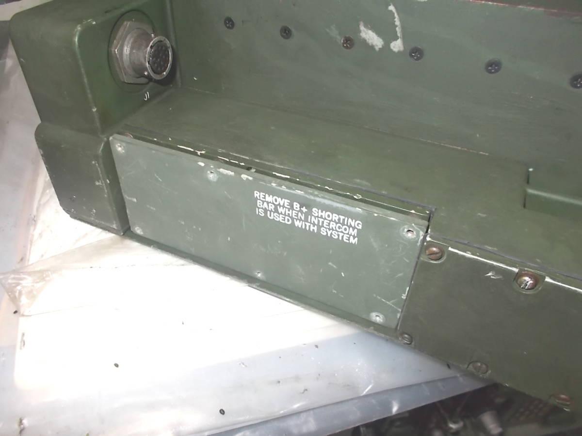 米軍 PRC-119/VRC VAA の台のサイドカバー(切換のフタ)_参考写真(出品とは関係ありません)