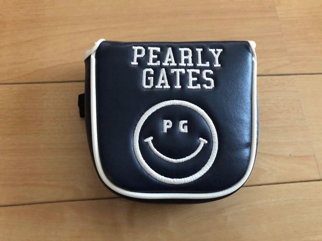 ◆ 送料無料 PEARLY GATES パーリーゲイツ スマイル89パターカバー ネイビー◆