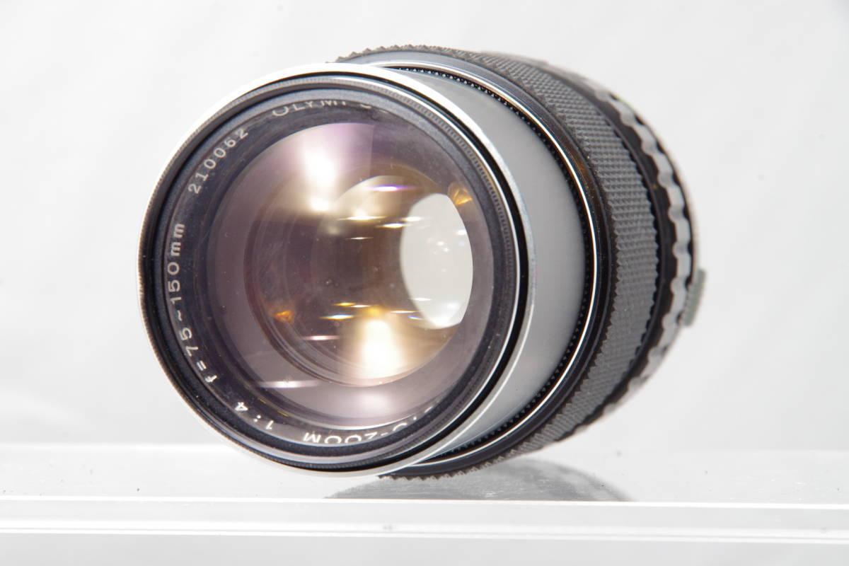 現状品 ● OLYMPUS OM-SYSTEM ZUIKO AUTO-ZOOM 75-150mm f4.0 オリンパス ズイコー 望遠ズームレンズ #388_画像1