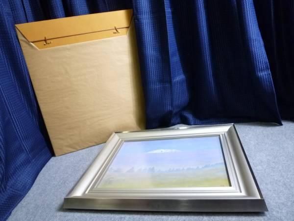 ▲ 山岸純 白麗 10号 真作保証 日本芸術院会員傑作 ▲_画像2
