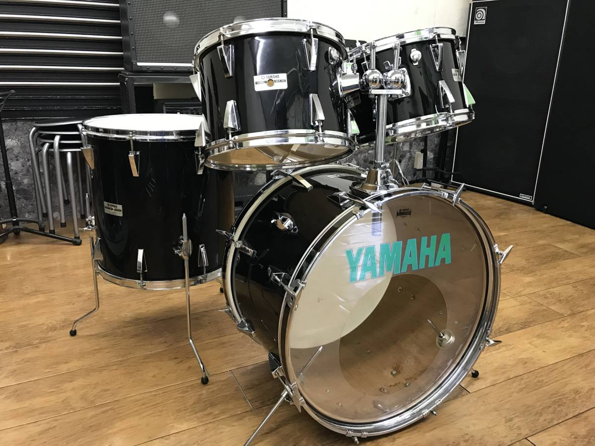 ☆ YAMAHA ヤマハ YD-3000 22/16/13/12インチ ドラム4点セット MADE IN JAPAN 引き取り限定 ☆_画像1