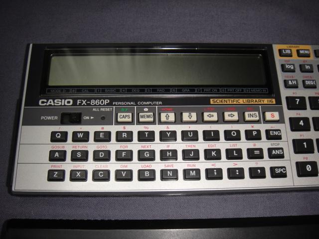 CASIO カシオ FX-860P ポケコン ジャンク 送料520円~_画像6