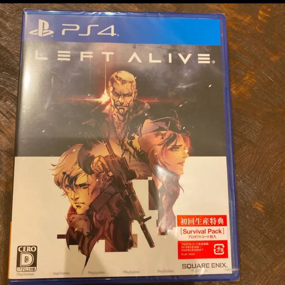 PS4 PS4ソフト ALIVE LEFT 初回生産
