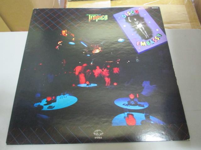 希少!トロピコ ディスコ・エンバシー 上田力 LP TOROPICO 和モノ シティポップ disco_画像1