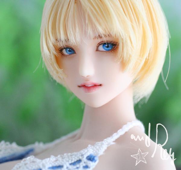 ★and Rey★1/6カスタムドールヘッド「ライラ」No.568_画像2
