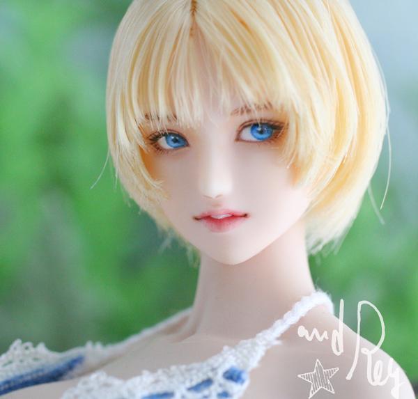 ★and Rey★1/6カスタムドールヘッド「ライラ」No.568_画像8