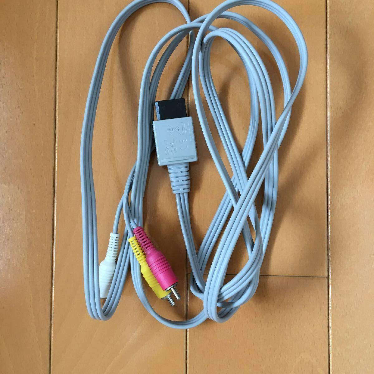 Wii  ACアダプター日本国内専用、ケーブル