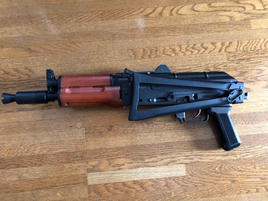 GHK ガスブローバック AKS74U クリンコフ マガジン破損 ガスガン