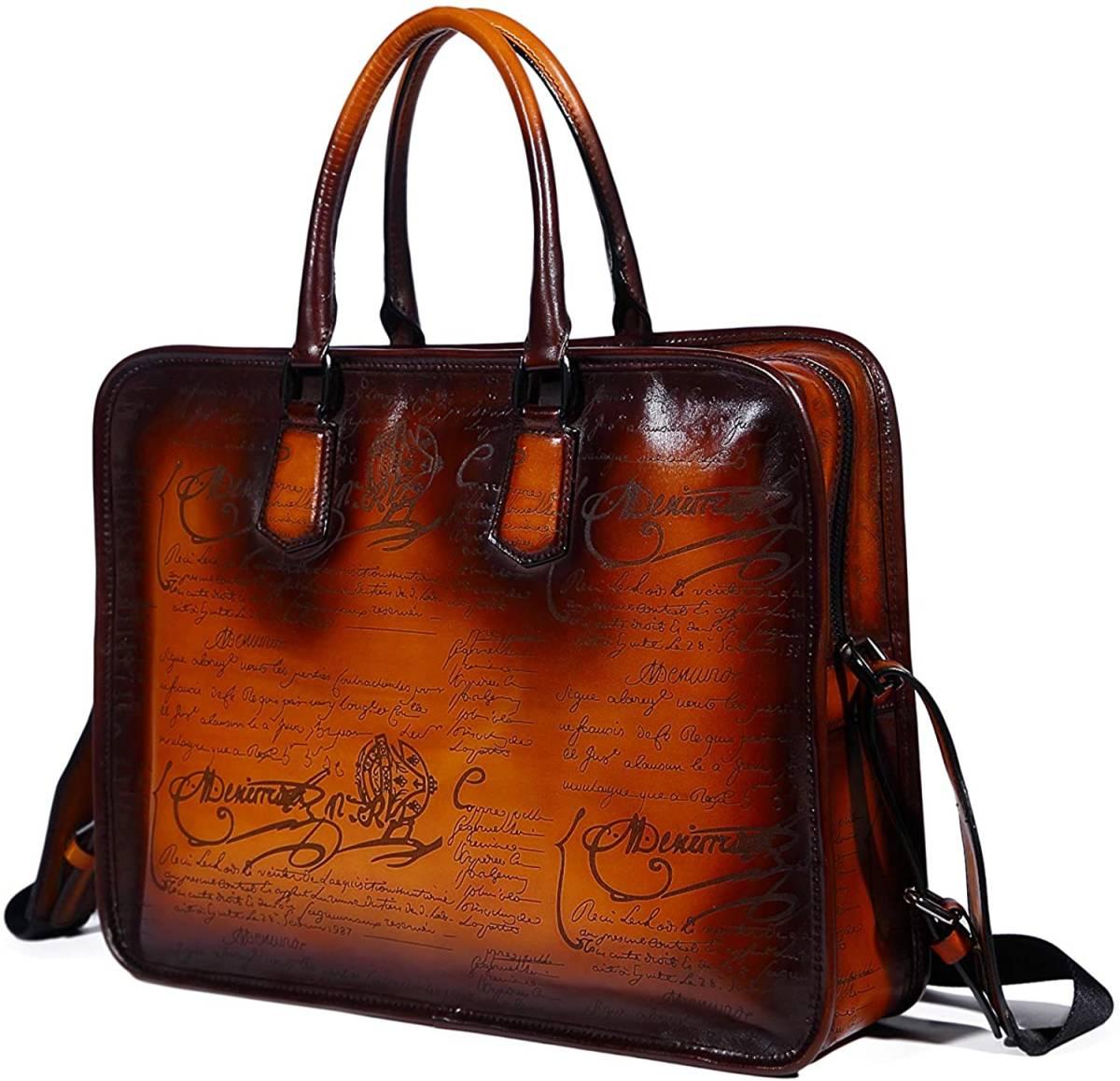 本革 栃木レザー ヌメ革 ビジネスバッグ ブリーフケース 新品 書類鞄 書類かばん 牛革 日本製 ショルダーバッグ トートバッグ