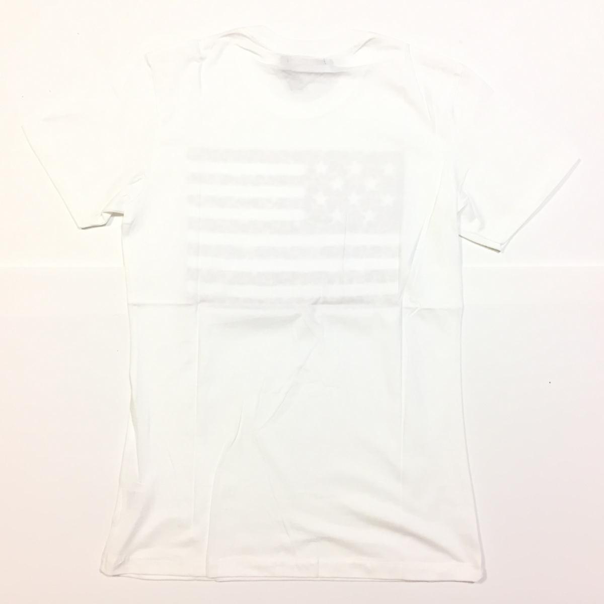 【卸売り】2枚セット メーカー希望小売価格¥3,190 新品 レオパード ヒョウ柄 星条旗 Tシャツ Lサイズ アメカジ ビター系_画像9