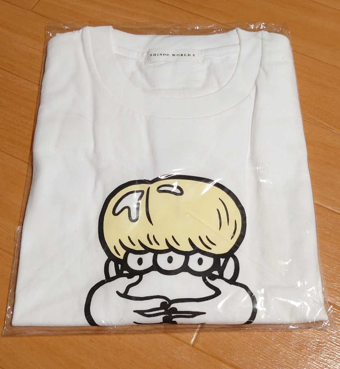 SHINee WORLD V 公式 Tシャツ【ジョンヒョン/JONGHYUN】新品未開封 フリーサイズ 韓国_画像1