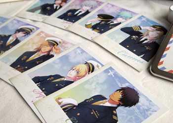 うたの☆プリンスさまっ♪ Shining Airlines 缶入りポストカードコレクション 全12枚入り うたプリ 11人セット AGF 未開封 シャイニング_画像7