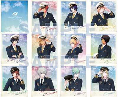 うたの☆プリンスさまっ♪ Shining Airlines 缶入りポストカードコレクション 全12枚入り うたプリ 11人セット AGF 未開封 シャイニング_画像5