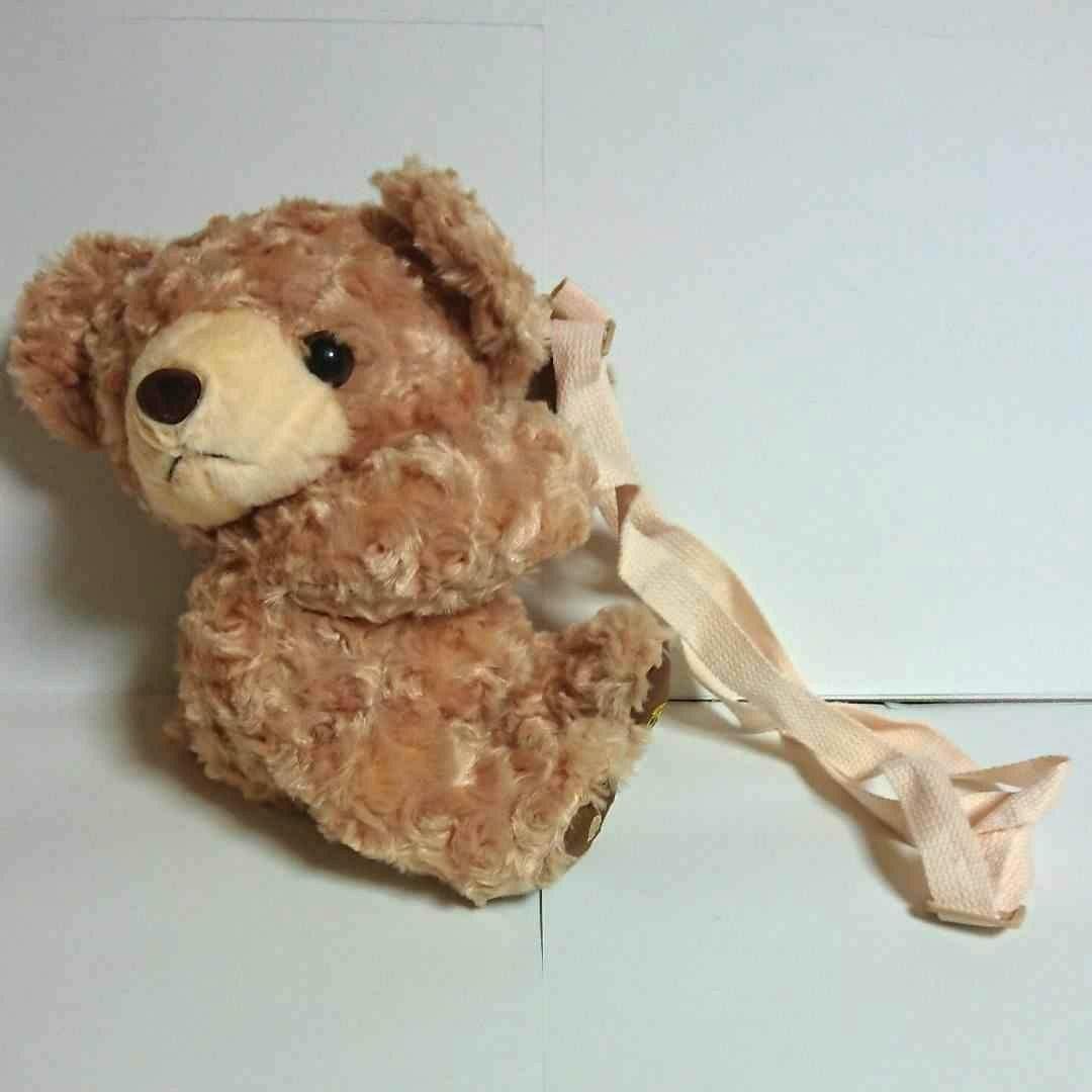 かわいいクマさんぬいぐるみショルダーバッグ