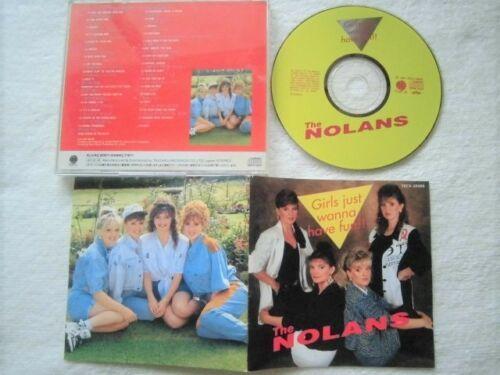 国内盤 / Nolans / Girls Just Wanna Have Fun!! / 80年代メガヒット大量カバー!Madonna, Cyndi Lauper, Culture Club, Michael Jackson_画像2