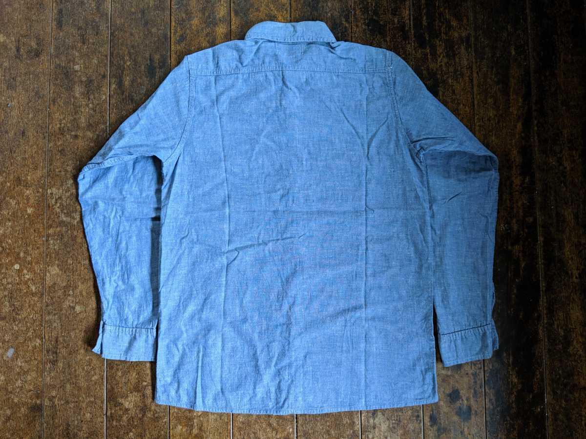 Sサイズ ☆ 60年代 s ベルテックス Beltex ヴィンテージ シャンブレー シャツ