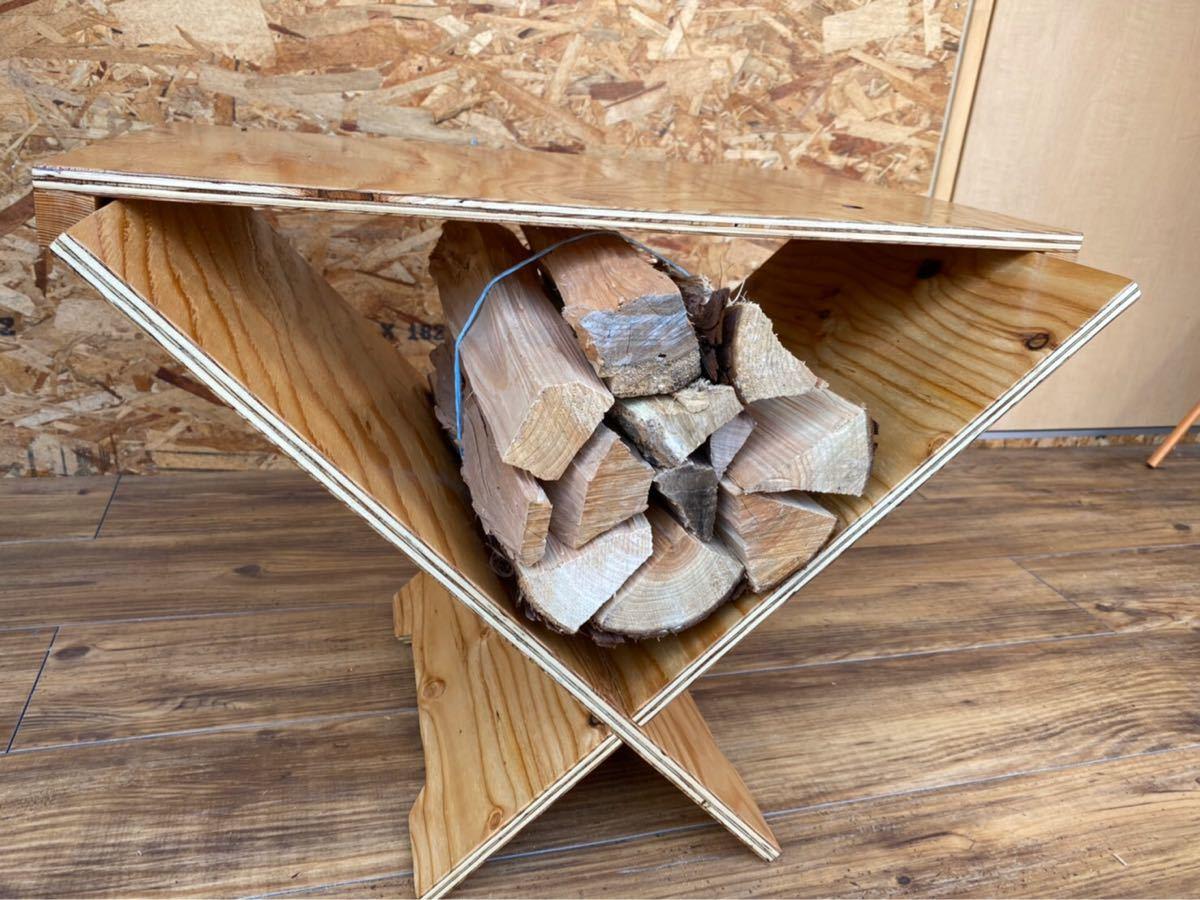 ログラックテーブル ウレタン塗装 クリア #キャンプ#アウトドア#薪#焚き火