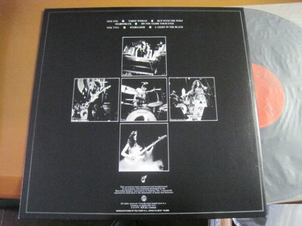 Blackmore's Rainbow - Rainbow Rising /レインボー/洋楽/ハードロック/20MM 9226/帯付/国内盤LPレコード_画像2