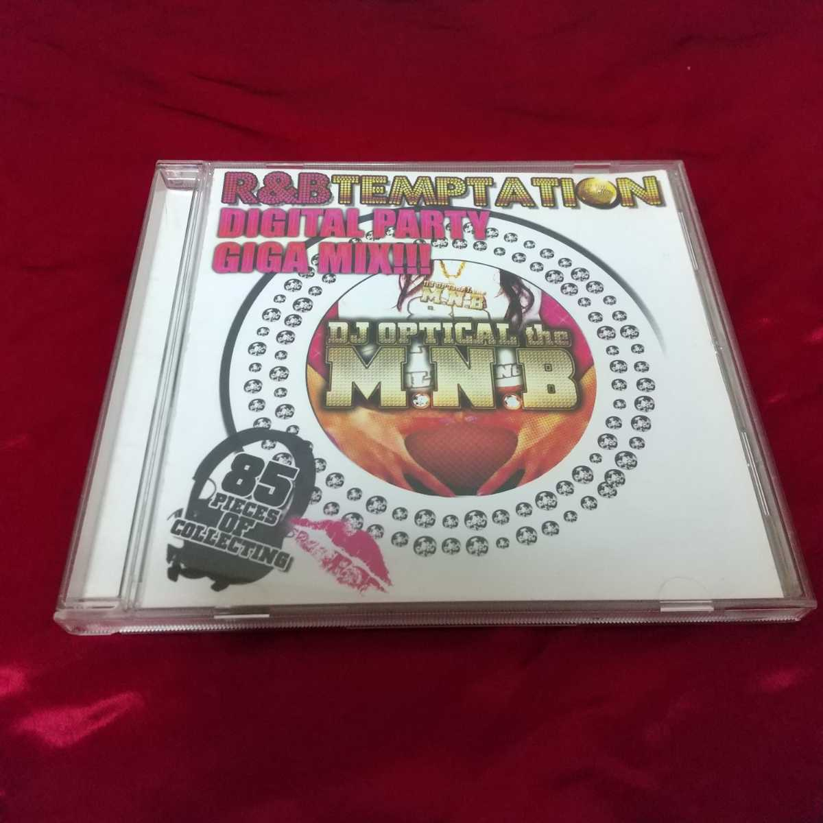 【DJ OPTICAL the M.N.B】R&B TEMPTATION DIGITAL PARTY GIGA MIX!!!☆中古CD・送料無料