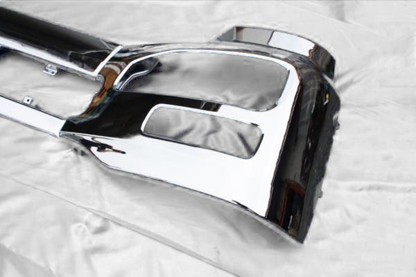 UDk on large for 3 division air dam less plating front bumper H17 year 1 month ~ front panel center bumper side panel left right set