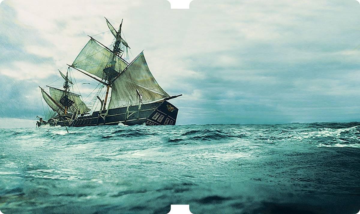 廃盤国内正規未開封新品◆【Amazon.co.jp限定】白鯨との闘い 3D&2D ブルーレイセット スチールブック仕様◆_画像2